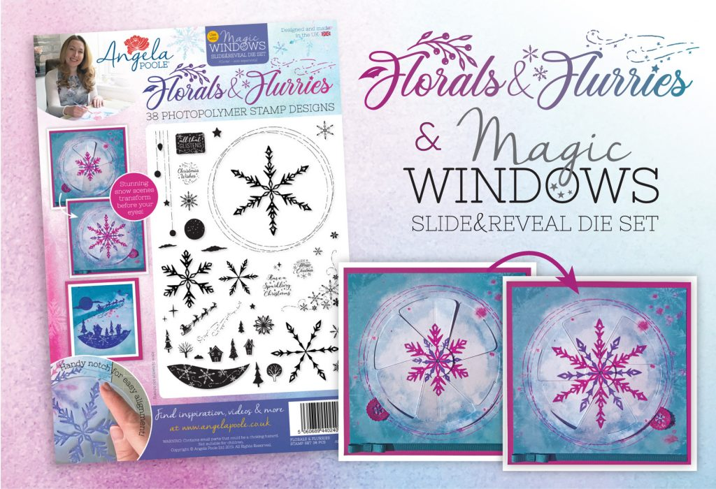 Florals and Flurries and magic windows stamps